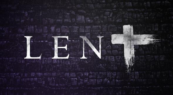 We offer in Lent…