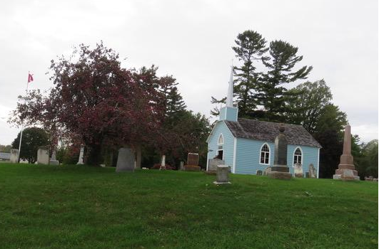 Thanksgiving Service at the Blue Church