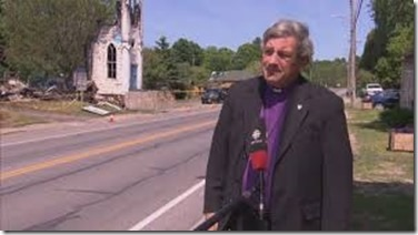 Loss of St. James Anglican Church