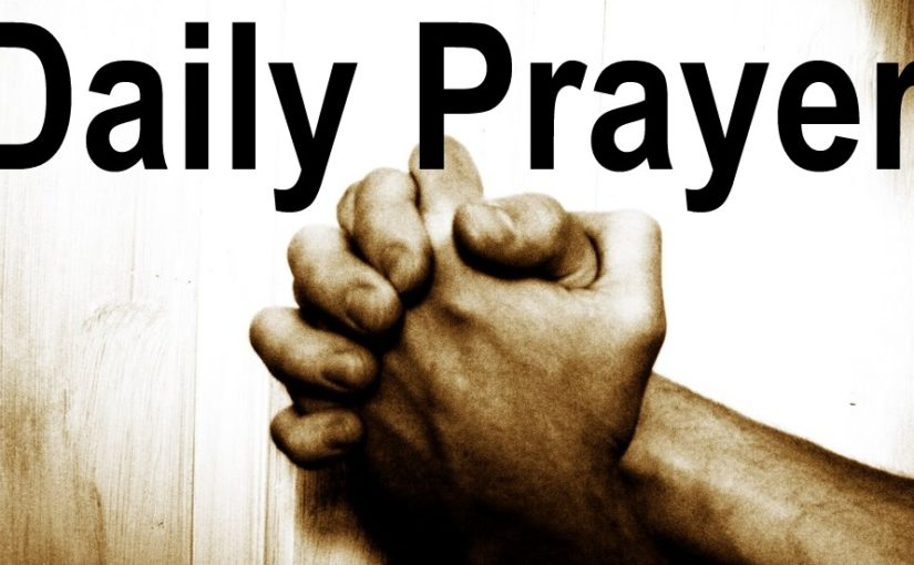 Please Join in a Daily Prayer