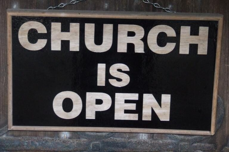 Churches Opening Schedule