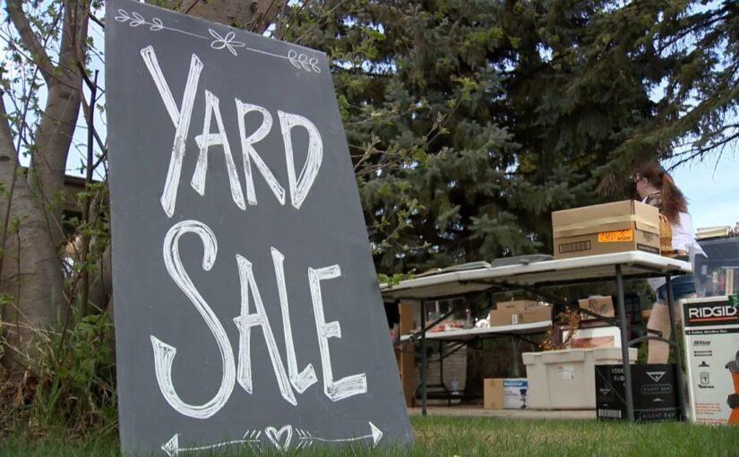 Yard Sales – beginning September 8th